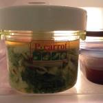 白菜の浅漬と人参・牛蒡・椎茸の蒸し物