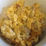玉ねぎと豚肉と卵でつくる他人丼