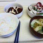 土鍋でご飯の昼ごはん