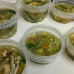 野菜スープのお弁当