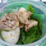 セロリと蒸鶏のサラダ