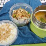 サラダとスープのスペシャルお弁当