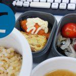 動画「納豆玉子焼きと焼鮭とサラダのお弁当」