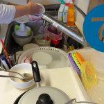 動画「朝にお弁当・・・じゃなくて皿洗い」