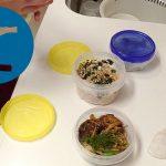 動画「今日のお弁当は和風ハンバーグと焼きそばとぬか漬け」