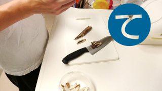 動画「ぬか漬けの失敗に涙しながらお弁当の惣菜準備」