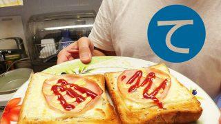 動画「パンとスープの朝ごはん」