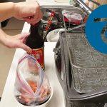 動画「中国風唐揚げの仕込みをして皿を洗う」