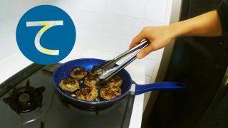 動画「常備菜にハンバーグ」