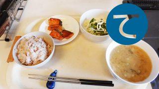 動画「バター醤油焼鮭定食」