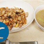 動画「朝から炒飯」