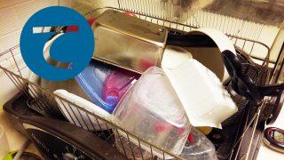 動画「深夜にひたすら皿洗い」