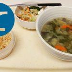 動画「野菜ばかりの夕ご飯」