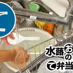 動画「お弁当おじさんの平日の皿洗い」