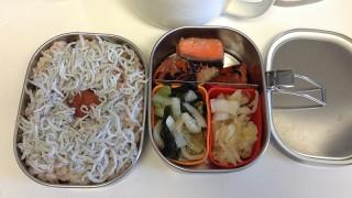 野菜がいる鮭の照り焼き弁当