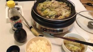 牡蠣ときのこのお鍋