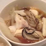 牡蠣と鱈の一人鍋