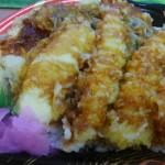 天ぷらが食べたかったんです・・・