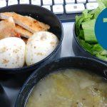 動画「野菜スープのあるお弁当」