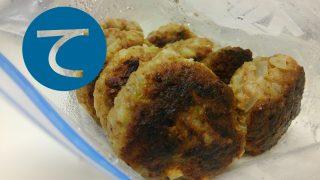 動画「常備菜にハンバーグ作るよ!」