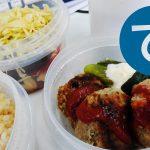 動画「冷しゃぶサラダ弁当と肉野菜炒め」
