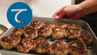 動画「ド定番!ハンバーグの常備菜」
