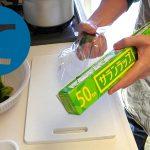 動画「ほうれん草と小松菜を湯がいて冷凍して常備菜に」