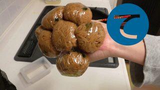 動画「焼きそばを冷凍して常備菜に!」