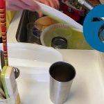 動画「ぬか漬けとお皿洗いと炊飯」