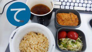 動画「運動後は皿洗いをして手抜きのお弁当準備」