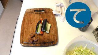 動画「酢漬けをつくってちょろちょろとお弁当準備」
