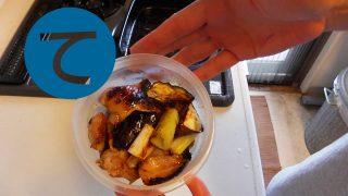 動画「焼き鳥風チキングリルとキャベツの酢漬け」