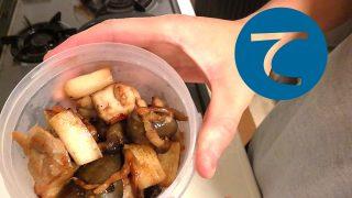 動画「グリルドチキンとキャベツの酢漬け」
