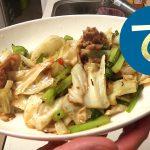 動画「皿洗いをして肉野菜炒め再び」