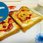 動画「朝ごはんのような夜食」
