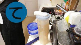 動画「ひたすら皿洗い」