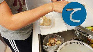 動画「キノコの冷凍保存とキャベツの酢漬け」