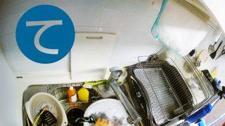 動画「洗い物が溜まってしまったのでまたもやだべりながら皿洗い」