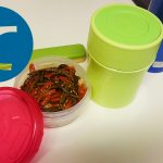 動画「味噌汁とご飯のお弁当」
