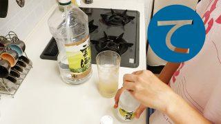 動画「蕎麦焼酎を飲みながら皿洗い」