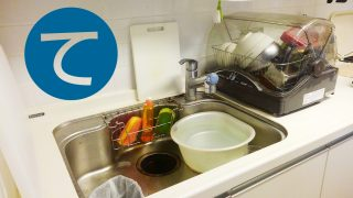 動画「親子丼を作ったので皿洗い」