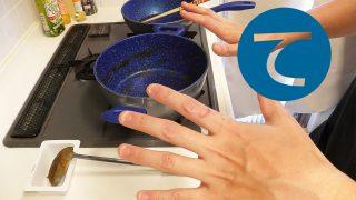動画「カレーの後の皿洗い」