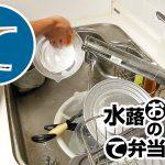 動画「夜のタスクの皿洗い」